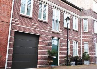 Garagepoort in Oostende sectionaal