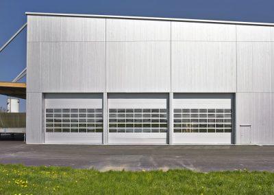 Industriële poorten - glas