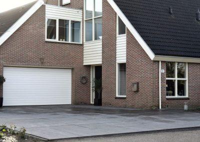 Poort garage hout - garagepoort in Brugge