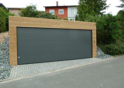 Sectionale garagepoorten in West-Vlaanderen